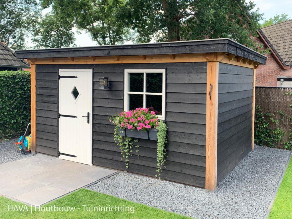 Douglas-houten-tuinberging