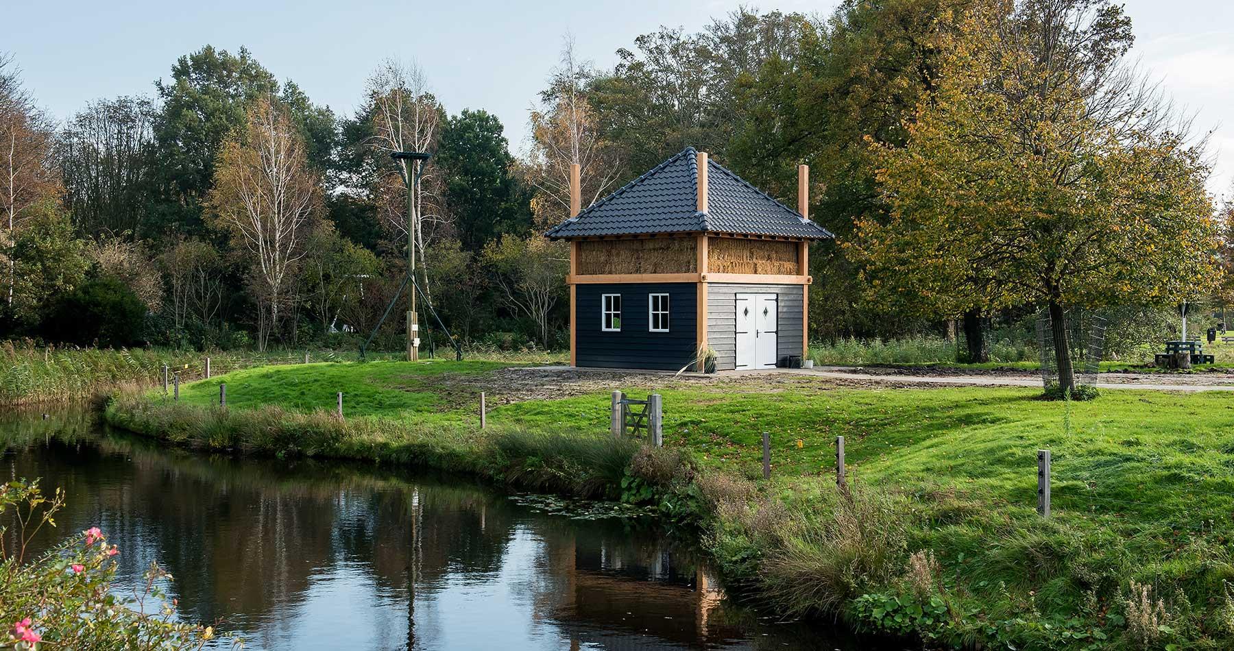 Houten berging Alkmaar